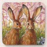 Happy Bunnies design by Schukina A072 Posavasos