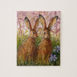 Happy Bunnies design by Schukina A072 Puzzles