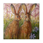 Happy Bunnies design by Schukina A072 Tiles