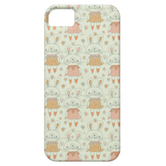 Happy Bunnies in Orange iPhone SE/5/5s Case