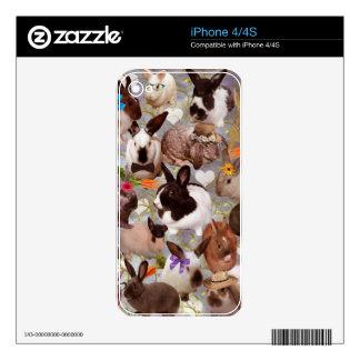 Happy Bunnies iPhone 4 Skin
