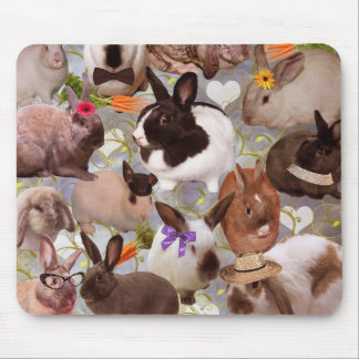 Happy Bunnies Mouse Pad