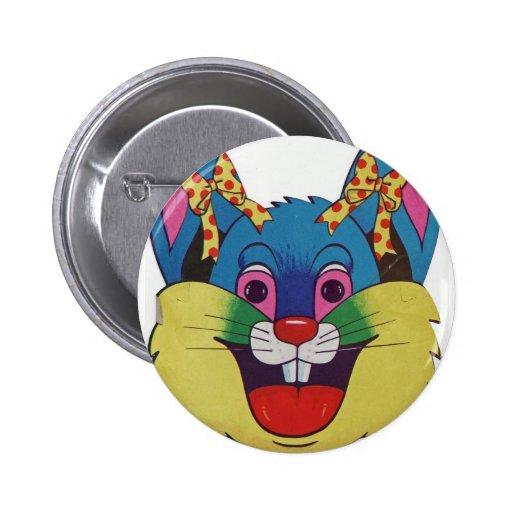 Happy Bunny Button