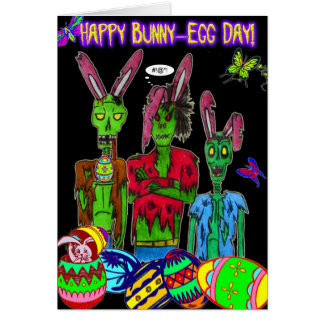 happy bunny-egg day card