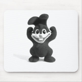 Happy Bunny Mouse Pad