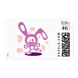 Happy Bunny(Purple) Postage