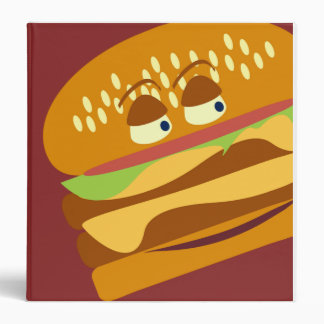 Happy Burger Binder