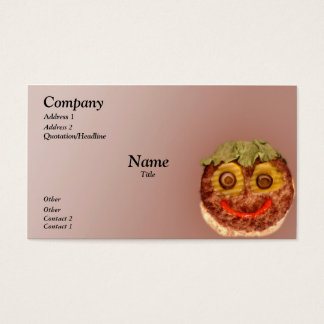Happy Burger Business Card