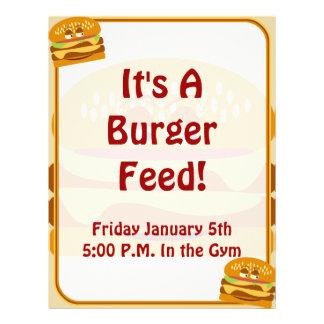 Happy Burger Flyer