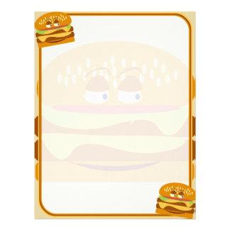 Happy Burger Letterhead