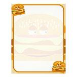 Happy Burger Letterhead Template