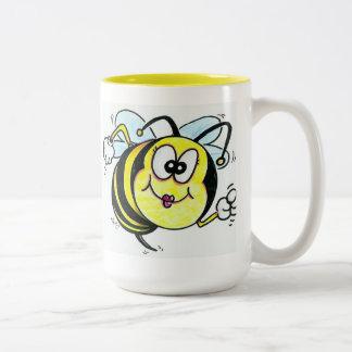 Happy Busy Bee Coffee Mugs