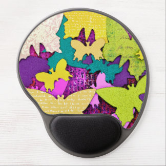 Happy Butterfly Gel Mouse Pad