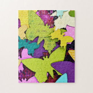 Happy Butterfly Jigsaw Puzzle