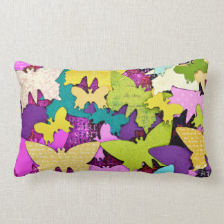 Happy Butterfly Pillow