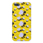 Happy Buzzing Bees iPhone 5 Cases