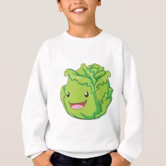 Happy Cabbage Vegetable Smiling Sweatshirt