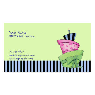 Happy Cake Business Card