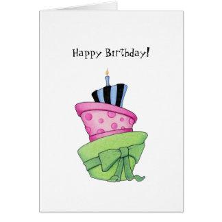 Happy Cake Card