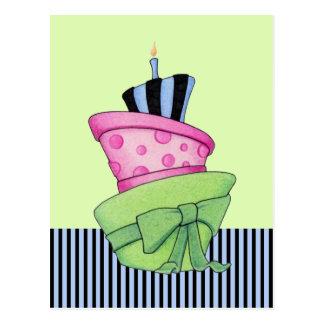 Happy Cake Postcard