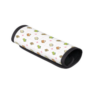 Happy Cakes and Pies Luggage Handle Wrap