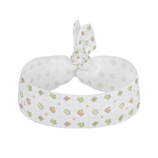 Happy Cakes and Pies Ribbon Hair Tie