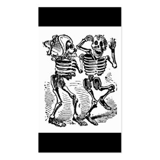 """""""Happy Calaveras"""" Mexico's Day of the Dead Business Card"""