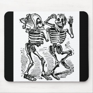 """""""Happy Calaveras"""" Mexico's Day of the Dead Mouse Pad"""