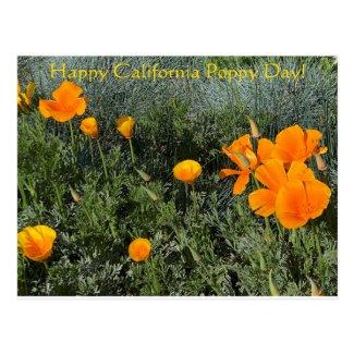 Happy California Poppy Day! Postcard