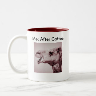 Happy Camel Before and After Mug