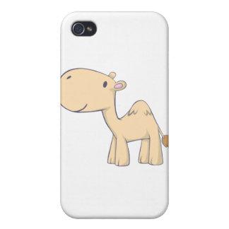 Happy Camel Cartoon iPhone 4 Covers