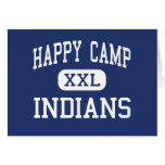 Happy Camp - Indians - High - Happy Camp Greeting Cards