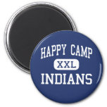 Happy Camp - Indians - High - Happy Camp Refrigerator Magnets