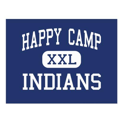 Happy Camp - Indians - High - Happy Camp Postcard