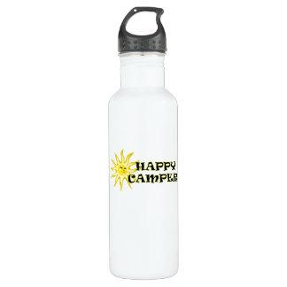 Happy Camper 24oz. Stainless Steel Water Bottle