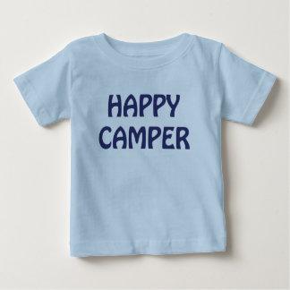 Happy Camper Backpack Infant Blue T-shirt