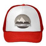 Happy Camper Badge trucker hat