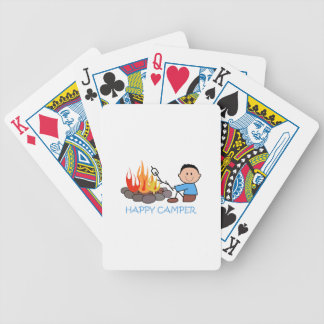 HAPPY CAMPER BICYCLE PLAYING CARDS