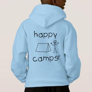 Happy Camper (blk) Hoodie