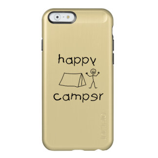 Happy Camper (blk) Incipio Feather Shine iPhone 6 Case