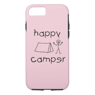 Happy Camper (blk) iPhone 8/7 Case