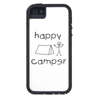 Happy Camper (blk) iPhone SE/5/5s Case