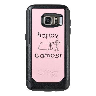 Happy Camper (blk) OtterBox Samsung Galaxy S7 Case