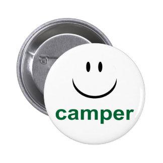 Happy Camper Button