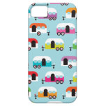 Happy camper caravan hippie retro pattern iPhone 5 case