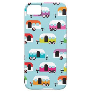 Happy camper caravan hippie retro pattern iPhone SE/5/5s case