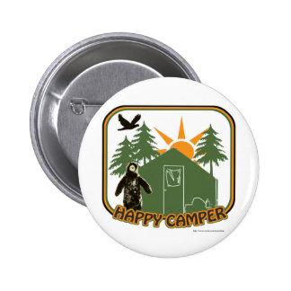 Happy Camper Classic Button