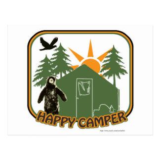 Happy Camper Classic Postcard
