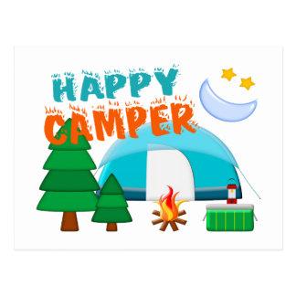 Happy Camper Cookout Postcard