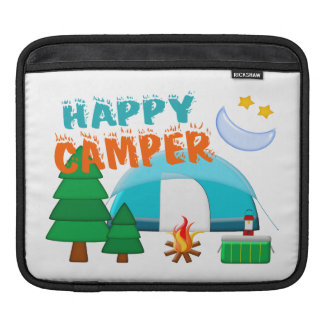 Happy Camper Cookout Sleeves For iPads